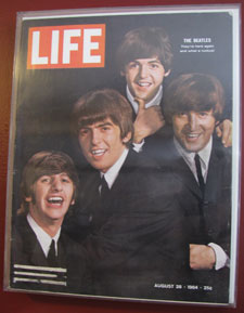 This 1964 Life magazine cover is a treasured item.