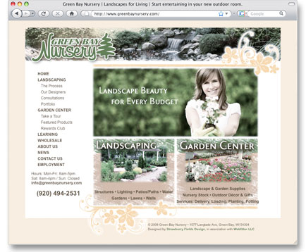 Green Bay Nursery Website