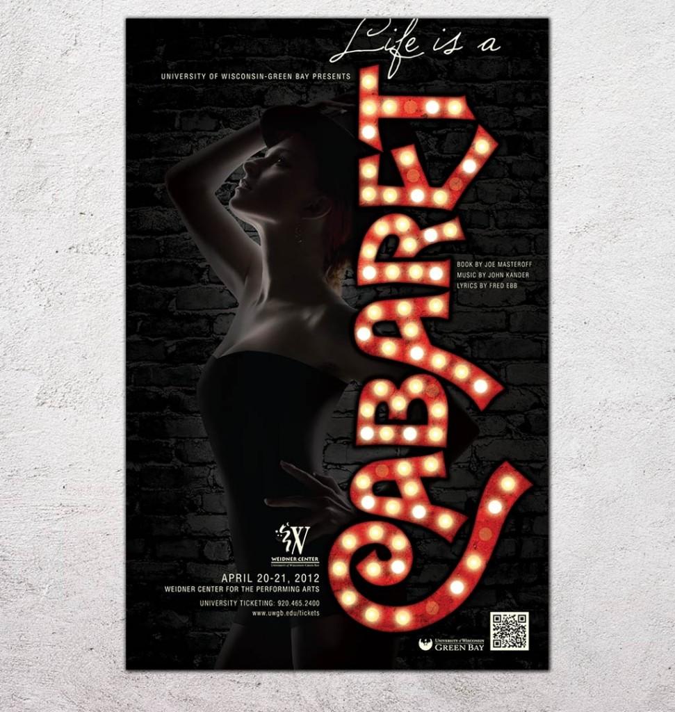 Cabaret Poster Design