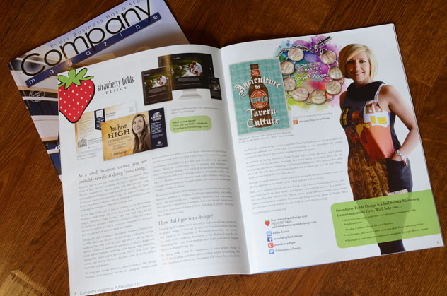 Company Magazine Article