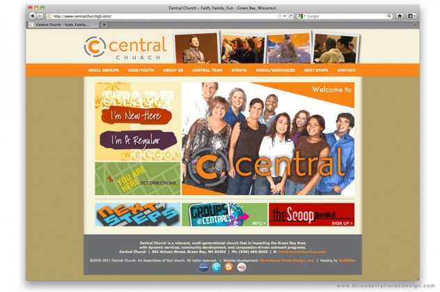 Central Church Website