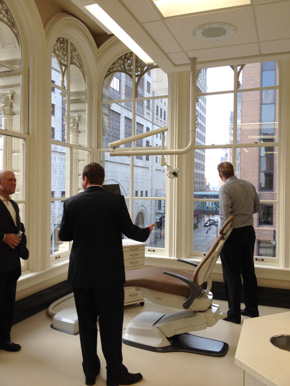 Touring the Dental Associates Clinic – Wow, what a view!